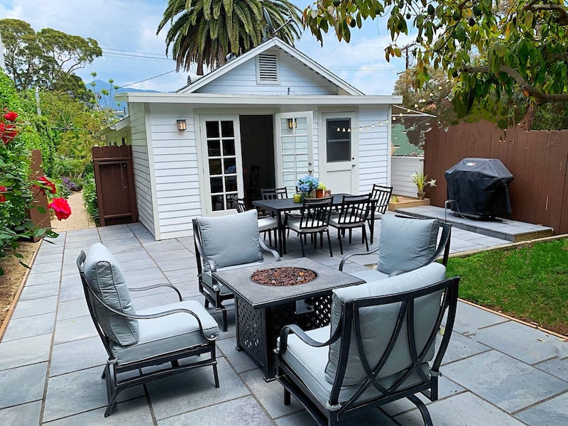 Emmanuel Blanc Villa airbnb in Santa Barbara