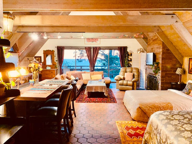 French style airbnb in Big Sur