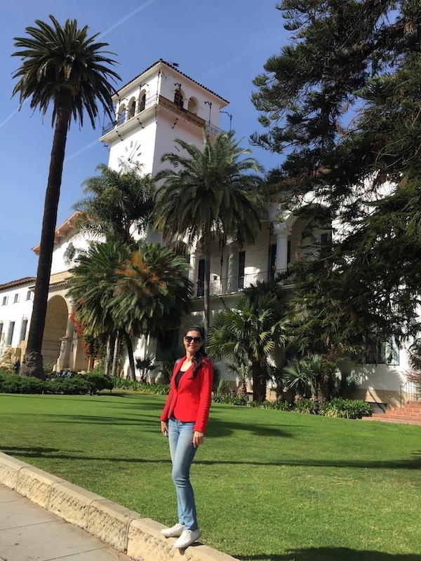 Milijana Gabrić in Santa Barbara in California