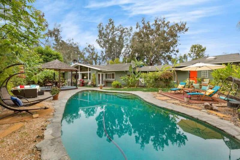 Tranquil Hideaway is the best Santa Barbara airbnb with hot tube