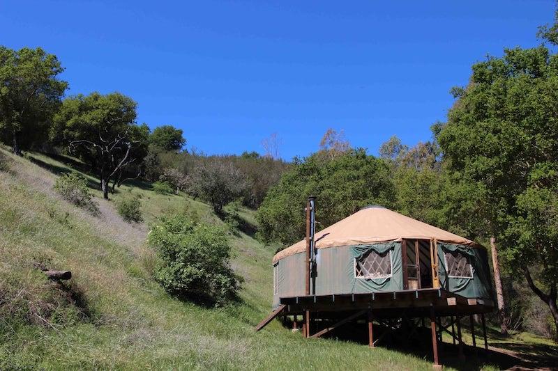 Unique Yurt Airbnb in Santa Barbara