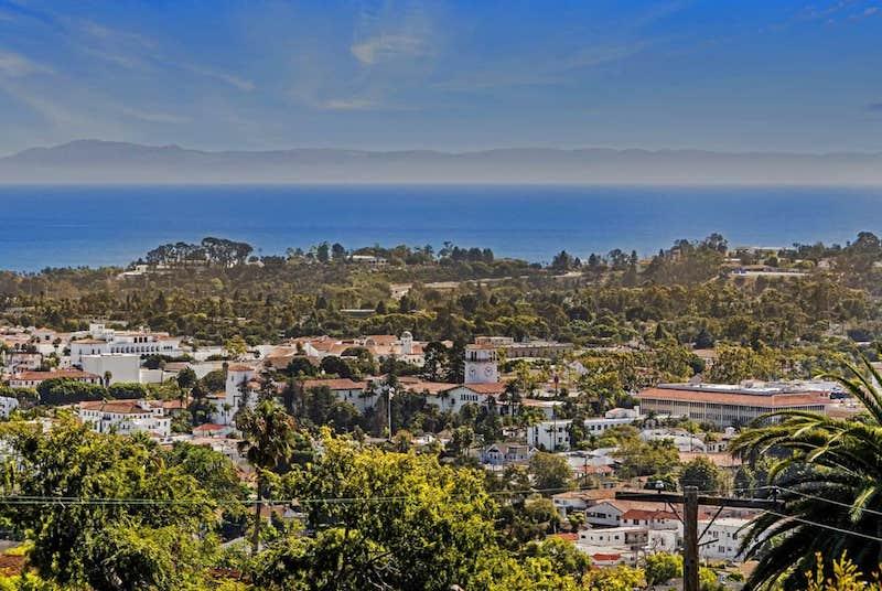 View of Santa Barbara