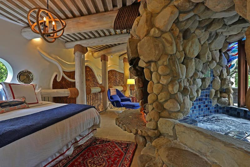 master suite of the whale house