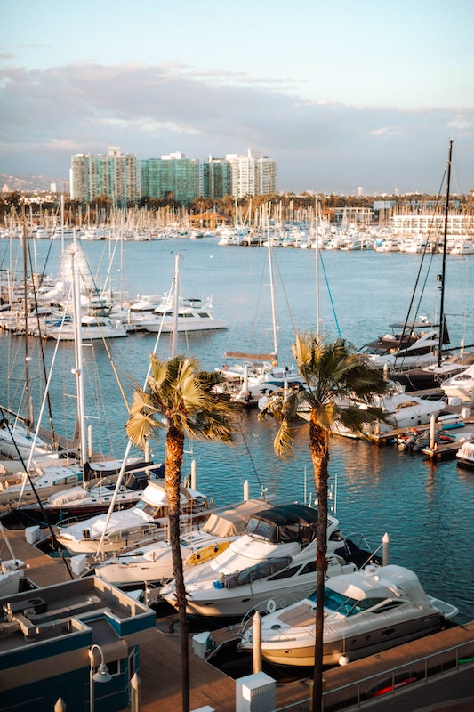 Marina Del Rey is one of the best places to stay in Los Angeles for budget travelers