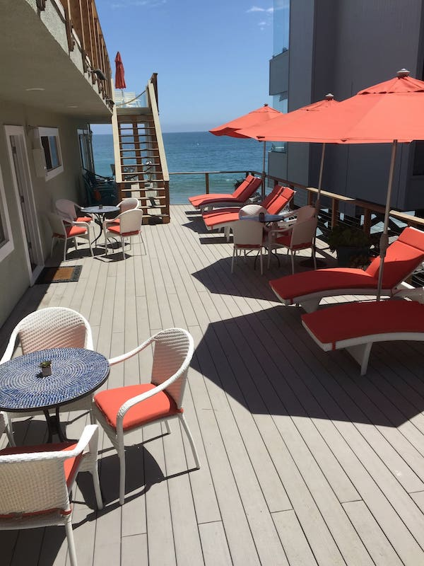 this boutique hotel is one of the best airbnbs in Malibu