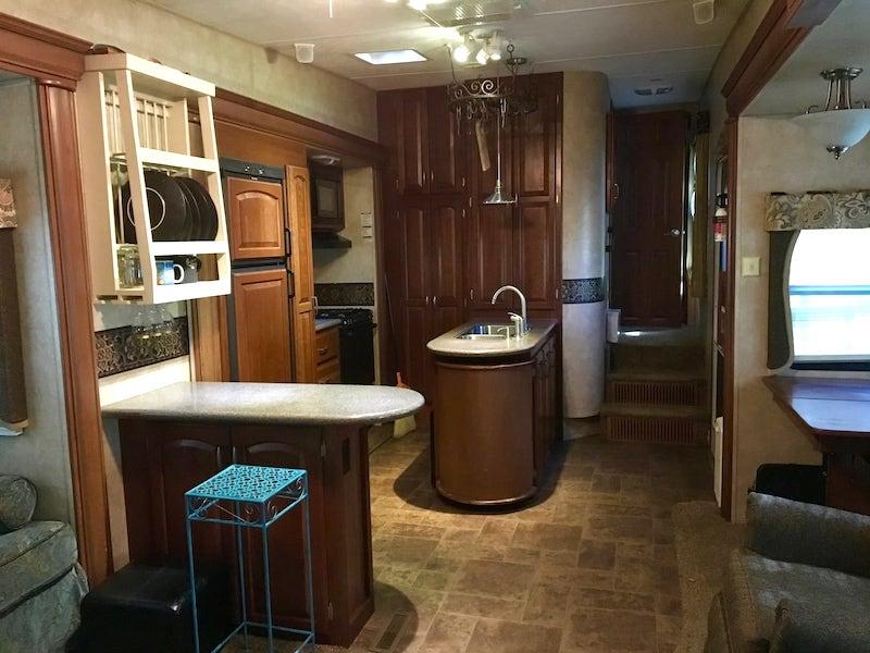 This camper van is one of the best Big Sur glamping rentals