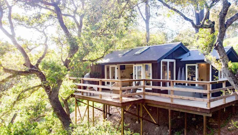 This treehouse is one of the best Big Sur glamping rentals