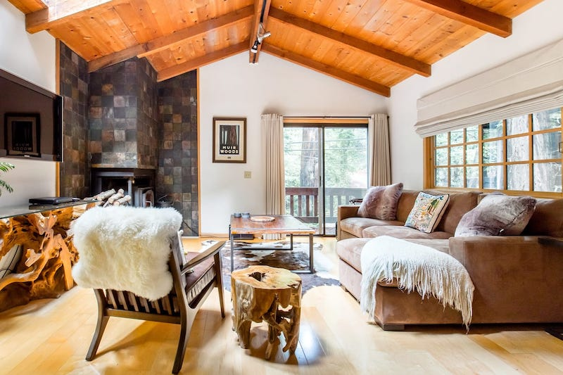 This cabin in Carmel is one of the best Big Sur glamping rentals