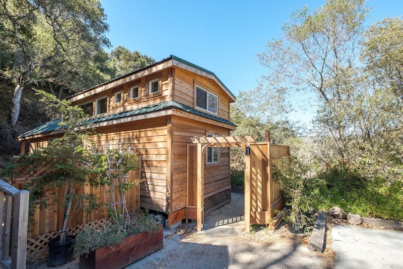 This cabin is one of the best Big Sur campground cabins