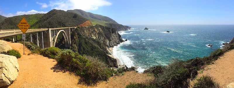 What to do in Big Sur? Take photos of iconic Bixby Bridge