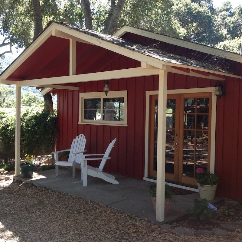 this cabin is one of the best rated cabins near Big Sur