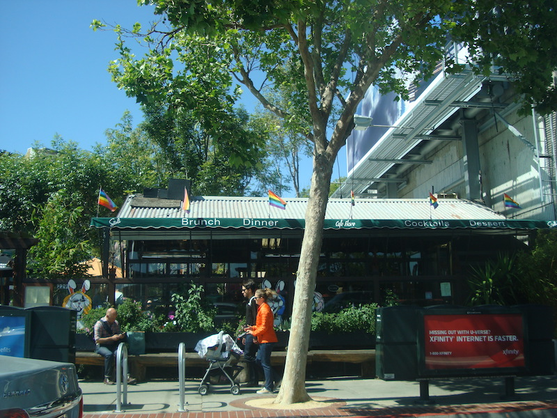 Castro district is one of the best areas to stay in San Francisco for LBTQ people