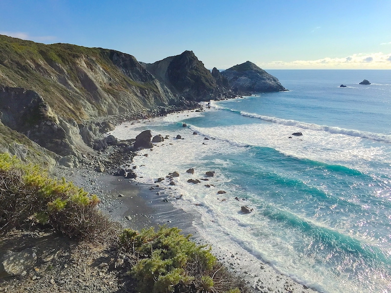 What to do in Big Sur? Visit the Jade Cove Beach in Big Sur