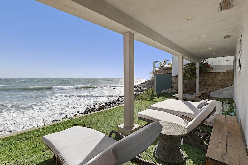 this oceanfront house is one of the best airbnbs in Malibu