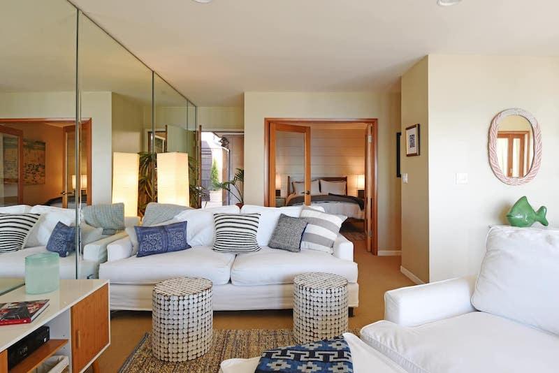 This Malibu Airbnb near Santa Monica is one of top airbnbs in Santa Monica area