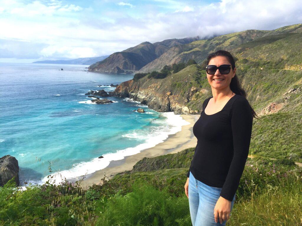 Milijana Gabrić in Big Sur