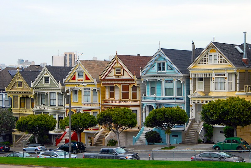 Western Addition withPainted Ladies is one of the best areas to stay in San Francisco for tourists