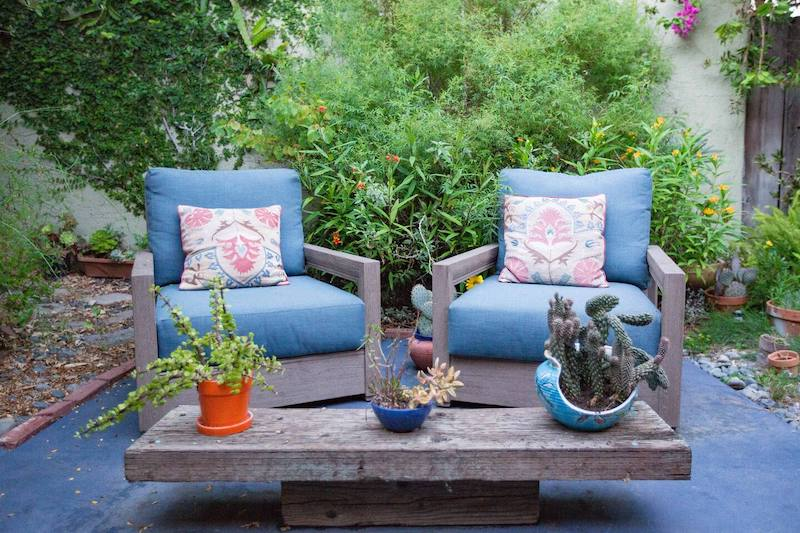 This pet-friendly guest house with a lovely garden is one of the best airbnbs in Santa Monica