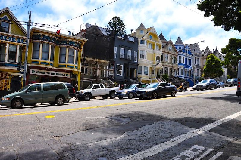 Haight Asbury is one of the best areas to stay in San Francisco for tourists