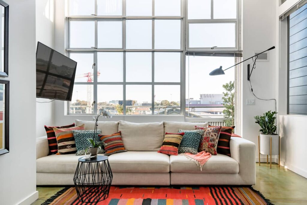 This apartment in Soma is one of the best airbnbs in San Francisco