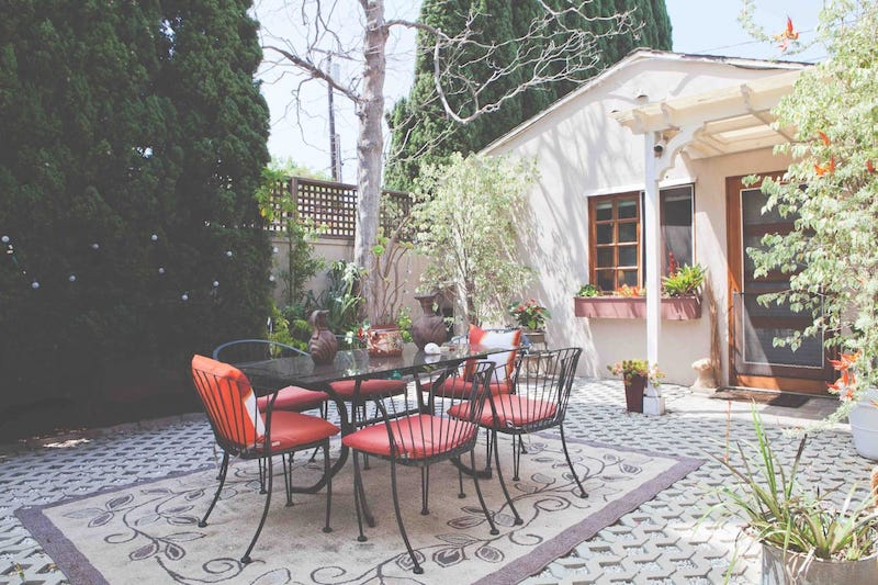 This cottage is one of the best airbnbs in Santa Monica