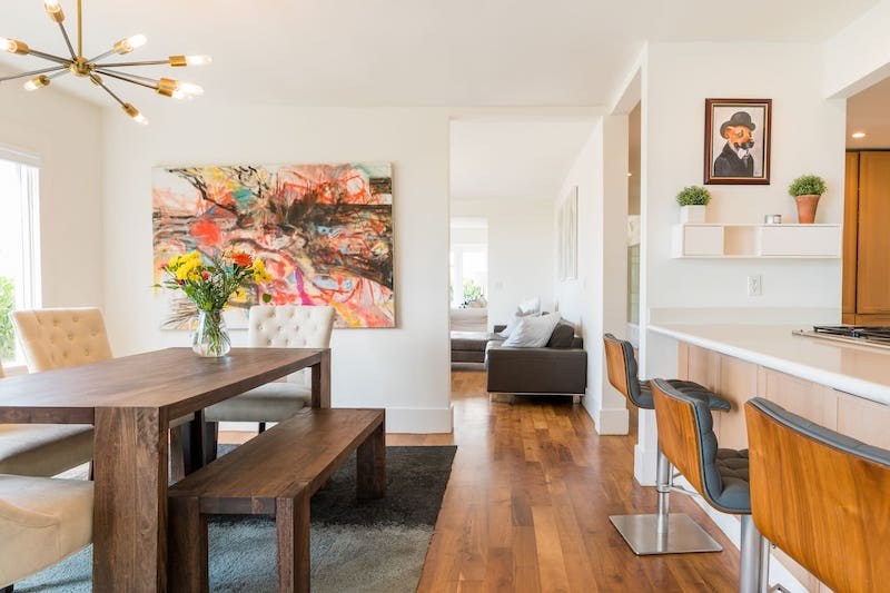 This beach house is one of the best airbnbs in Santa Monica