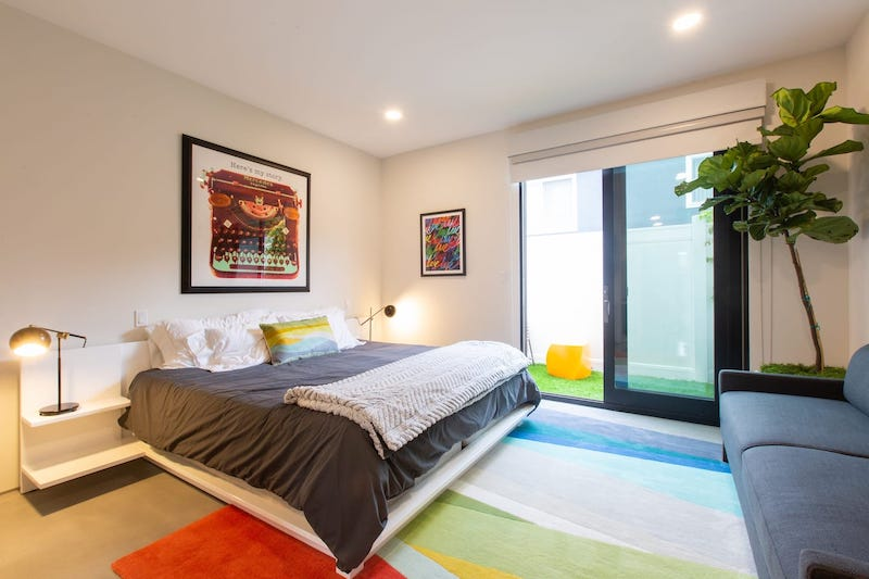 This suite is one of the best airbnbs in Santa Monica