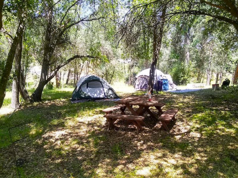 This campsite is Ahwahnee is one of the best airbnbs in Yosemite for nature lovers
