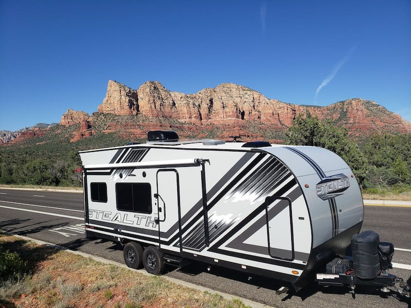 This camper is one of the best Sedona airbnbs