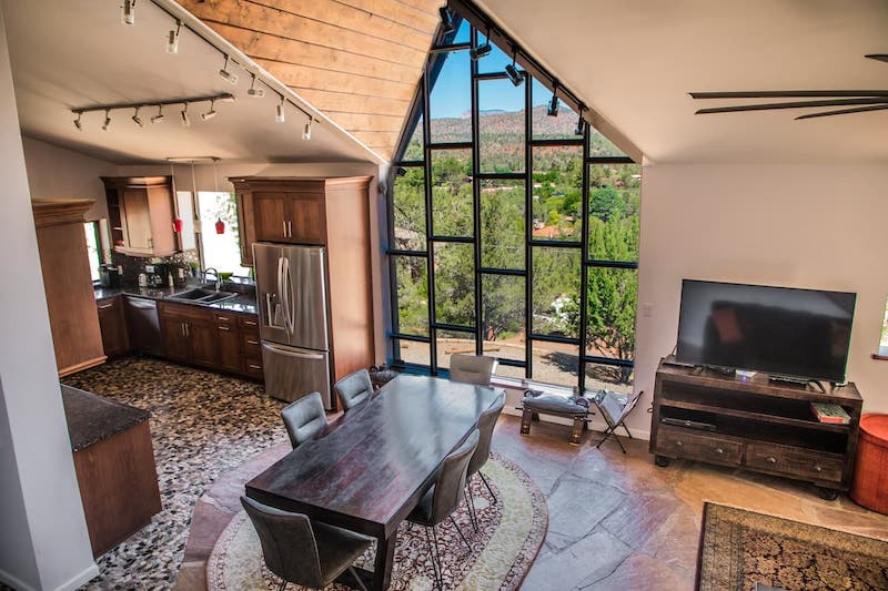 This cottage is one of the best airbnbs in Sedona Arizona