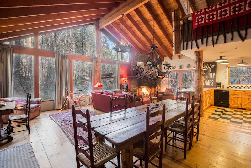 This cabin is one of the best Sedona Airbnb rentals