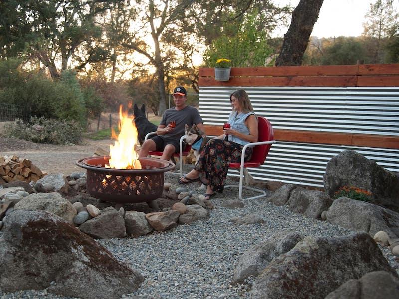 Airbnb glamping in Yosemite