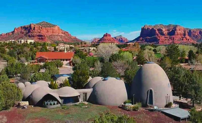 This dome resort is one of the best Sedona Airbnbs
