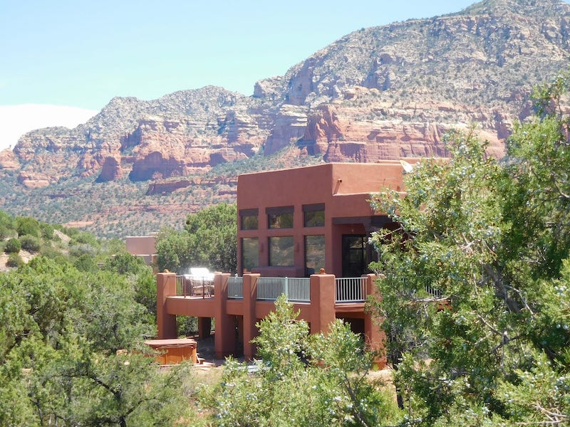 This house is one of the best Sedona airbnbs