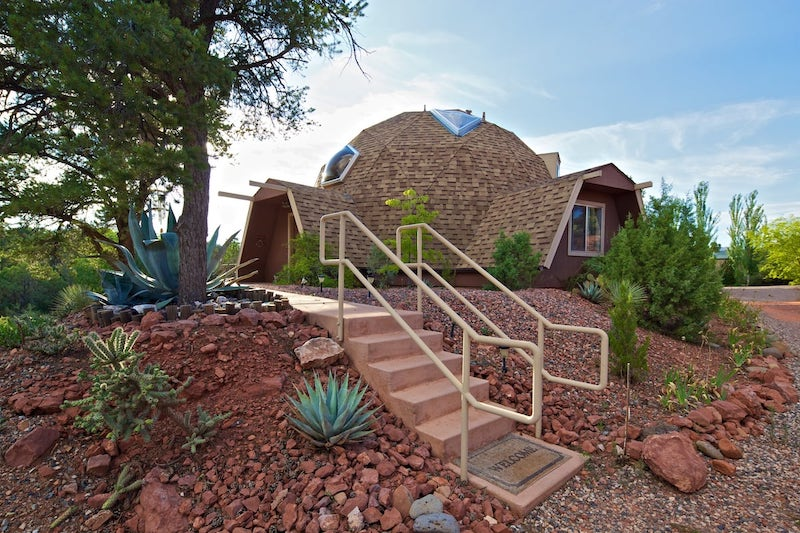 This dome house is one of the best Sedona airbnbs