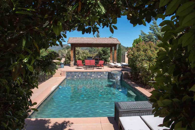 This villa with pool is one of the best Sedona Airbnb Rentals
