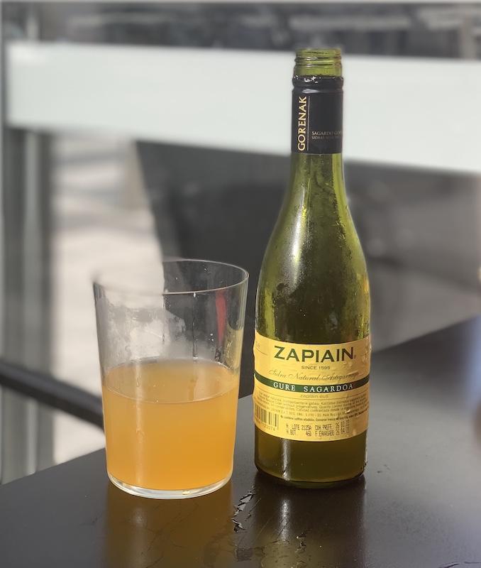 Basque cider
