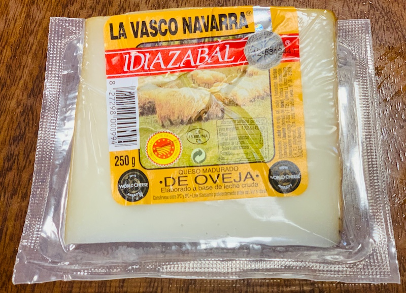 Idiazabal cheese is some of the best Basque foods