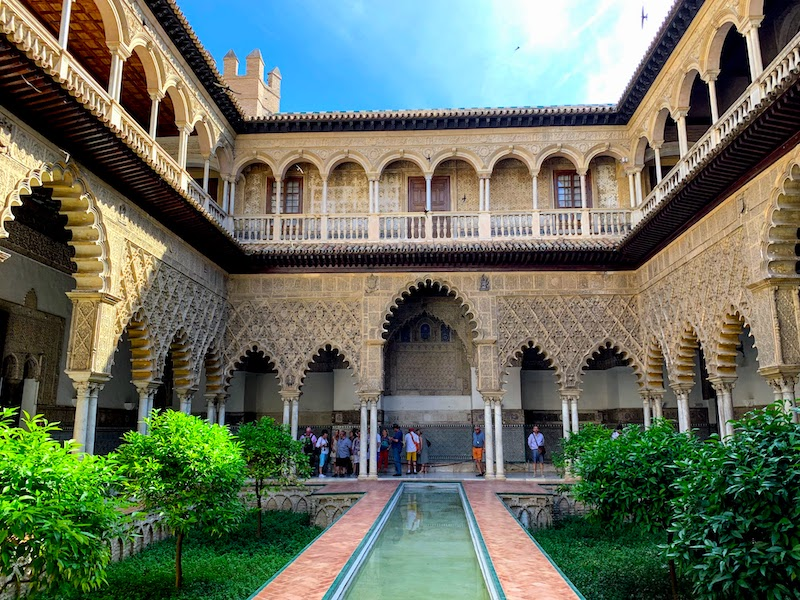 Visiting royal Alcazar Palace is one of the the top things to do in Seville