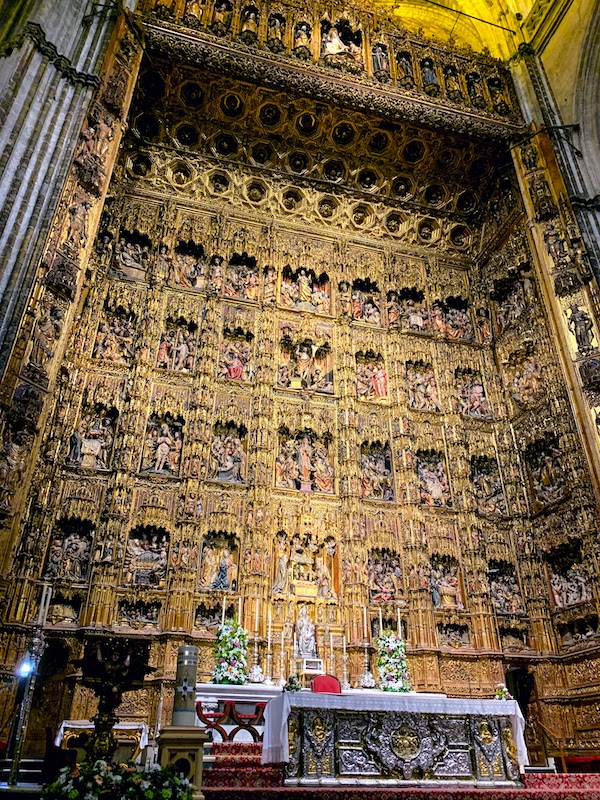 Visiting Seville Cathedral is one f the top things to do in Seville