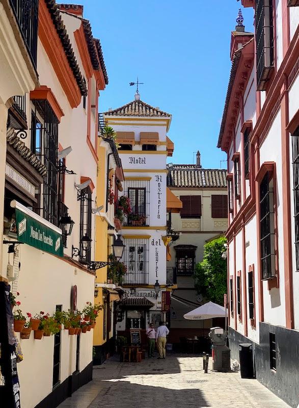 Wandering Barrio Santa Cruz is one of the best things to do in Seville Spain