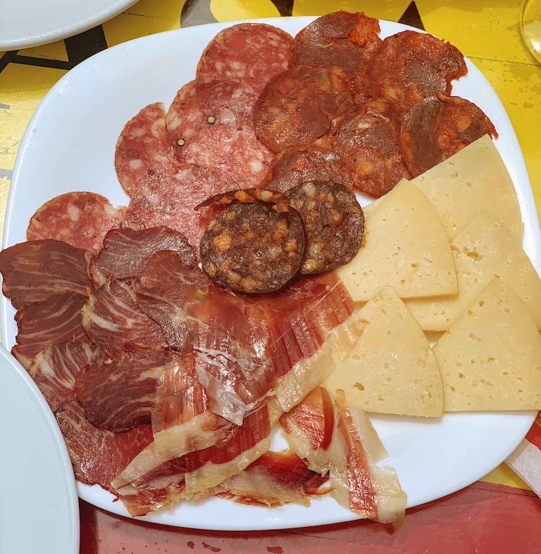 Spanish cold meats are some of the most traditional Spanish berakfast food