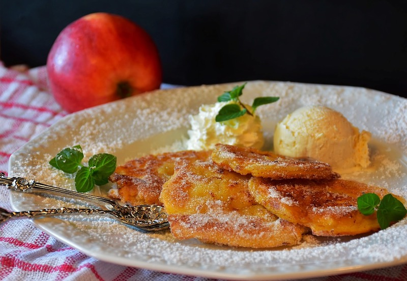 German Apfelküchle are some of the most best fried foods in the world