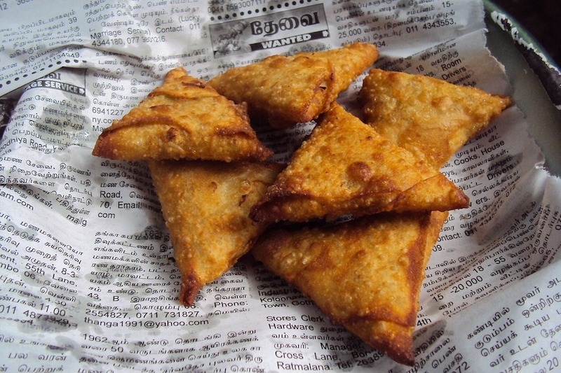 Indian samosa snaks are some of the best fried foods in the world