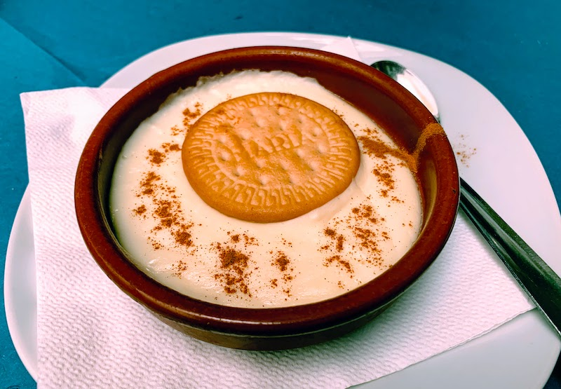 Natillas is one of the traditional Spanish desserts in Spain