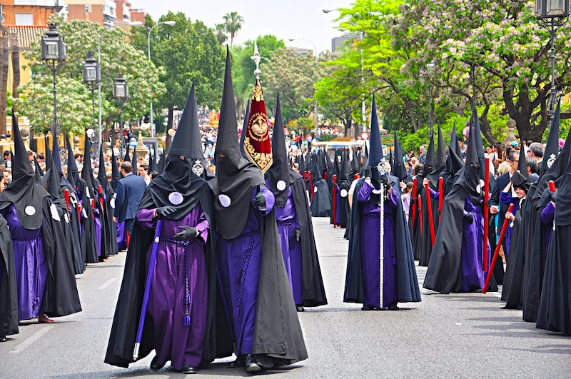 Celebrating Holy Week in Seville is one of the best things to do in Seville
