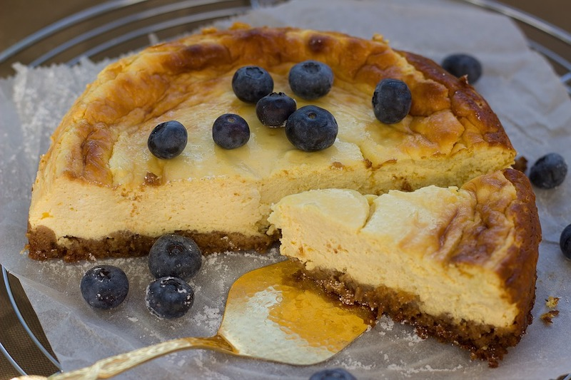 Tarta de queso is one of the most popular Spanish desserts