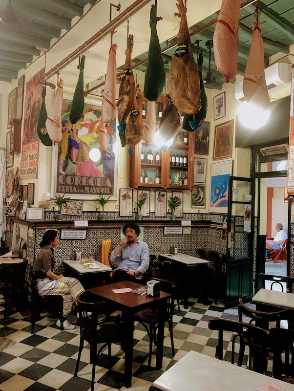 Touring tapas bars is one of the top things to do in Seville Spain
