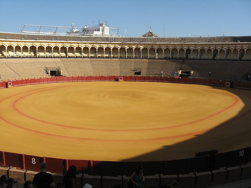 Visiting Seville bullring is one of the best things to do in Seville