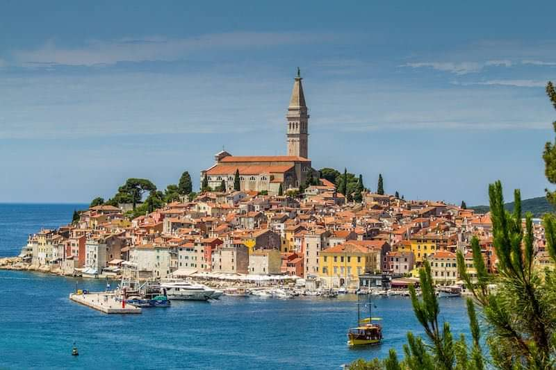 Landscapes of Rovinj in Croatia I Europe Travel Guide by World Travel Connector